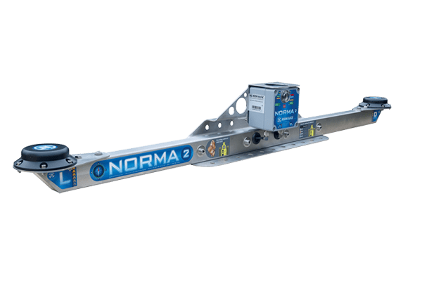 NORMA2, measure of highly accurate Geographic North (True North)